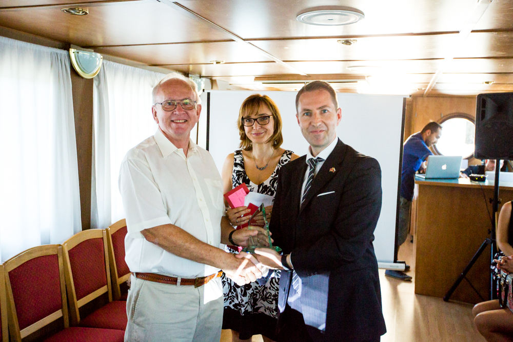 John Baron recognised by The British Slovak Chamber of Commerce
