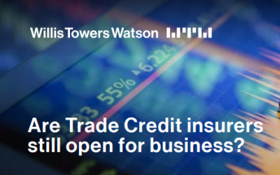 Are Trade Credit insurers still open for business?